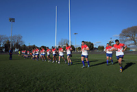 Horowhenua Kapiti warm down after the 2019 Heartland Championship  rugby match between Horowhenua Kapiti and West Coast at Levin Domain in Levin, New Zealand on Saturday, 31 August 2019. Photo: Dave Lintott / lintottphoto.co.nz