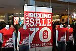 Store sale in a shopping mall on a Boxing Day in Toronto, Canada.