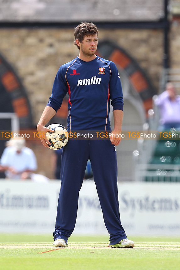 Ben Foakes of Essex looks on ahead of the start - Gloucestershire CCC vs Essex Eagles - NatWest T20 Blast Cricket at Cheltenham College, Cheltenham, Gloucestershire - 20/07/14 - MANDATORY CREDIT: Gavin Ellis/TGSPHOTO - Self billing applies where appropriate - contact@tgsphoto.co.uk - NO UNPAID USE