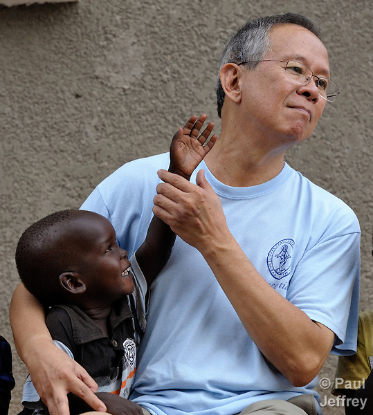Vincentian Father Manny Ginete of the Philippines is a volunteer with Solidarity with South Sudan, an international consortium of more than 200 religious congregations that trains teachers, health workers and pastoral personnel in several locations throughout South Sudan..