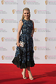 London, UK. 8 May 2016. Emily Berrington. Red carpet  celebrity arrivals for the House Of Fraser British Academy Television Awards at the Royal Festival Hall.