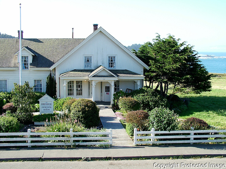 The Ford House in Mendocino