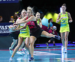 29/10/17 Fast5 2017<br /> Fast 5 Netball World Series<br /> Hisense Arena Melbourne<br /> Australia v New Zealand<br /> <br /> Maddy Turner<br /> <br /> <br /> Photo: Grant Treeby