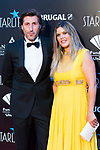 Fernando Ramos and his wife attends photocall previous to Starlite Gala 2019. August 11, 2019. (ALTERPHOTOS/Francis González)