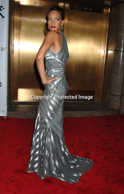 Rihanna..arriving at The Conde Nast Media Group's Third Annual Live Fashion Rocks Concert at Radio City Music Hall on September 7, 2006. ..Robin Platzer, Twin Images