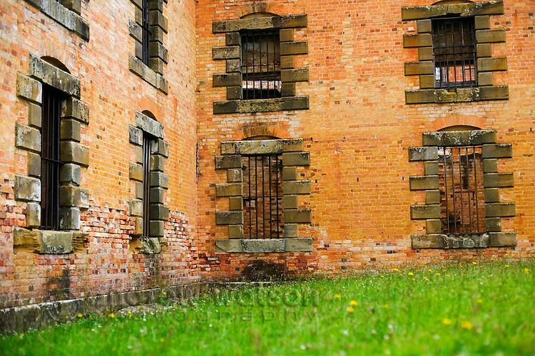 The ruins of the Penitentiary at the Port Arthur Historic Site.  Port Arthur, Tasmania, AUSTRALIA