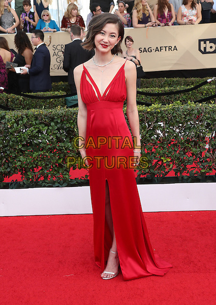 29 January 2017 - Los Angeles, California - Kimiko Glenn. 23rd Annual Screen Actors Guild Awards held at The Shrine Expo Hall. <br /> CAP/ADM/FS<br /> &copy;FS/ADM/Capital Pictures