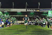 23rd November 2013; Connacht's Michael Swift runs onto the pitch for his 250th cap. Rabodirect Pro12, Connacht v Scarlets, Sportsground, Galway. Picture credit: Tommy Grealy/actionshots.ie.
