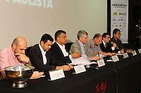 s&Atilde;O PAULO, SP, 20.12.13. R&Eacute;VEILLON NA PAULISTA - Coletiva de imprensa na presenta&ccedil;&atilde;o do evento R&eacute;veillon na Paulista,<br /> que aconteceu  no Pal&aacute;cio das Conven&ccedil;&otilde;es do Anhembi, em S&atilde;o Paulo, nesta sexta-feira, 20. (Foto: Geovani Velasquez / Brazil Photo Press)
