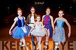 Rehearsing for their Ballet Born to Dance Show in Siamsa Tíre on Sunday were l-r: Caitlin Haulton, Maria Barry, Una Ní Caishaigh, Sorcha Ringland and Cliona Sweeney.