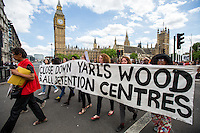 "15.06.2015 - ""Shut Down Yarl's Wood & All Detention Centres"" #ShutDownYarlsWood"