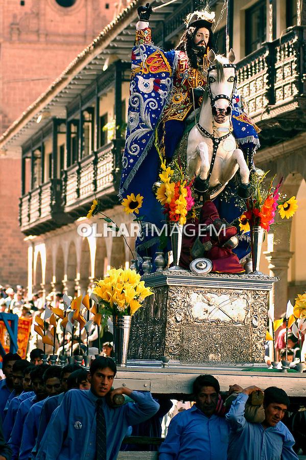 Festa de Corpus Christi em Cusco. Peru. 2005. Foto de Luciana Whitaker.