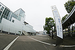 A general view of the Makuhari Messe International Convention Complex on November 26, 2015, Chiba, Japan. At a meeting held on November 12 in Mexico City, the International Paralympic Committee (IPC) Governing Board approved 19 venues for the 22 sports competitions to be held at the Tokyo 2020 Paralympic Games. Makuhari Messe will be the venue for the Taekwondo, Wheelchair Fencing, Goalball and Sitting Volleyball competitions. (Photo by Rodrigo Reyes Marin/AFLO)