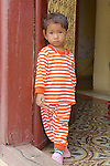 Young Boy At Royal Palace
