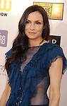 SANTA MONICA, CA - JANUARY 10: Famke Janssen  arrives at the 18th Annual Critics' Choice Movie Awards at The Barker Hanger on January 10, 2013 in Santa Monica, California.