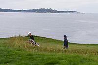 Jason Dufner (USA) makes his way down 8 during round 1 of the 2019 US Open, Pebble Beach Golf Links, Monterrey, California, USA. 6/13/2019.<br /> Picture: Golffile | Ken Murray<br /> <br /> All photo usage must carry mandatory copyright credit (© Golffile | Ken Murray)