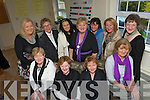 Eyecatcher Image Consultant Margaret Walsh O'Donaghue with ladies in her studio in Muckross .Front from left Lilly O'Shaughnessy, Rose Hickey, Siobhain Sheehan and Joan Daly..Back from left, Valerie Courtney, Mary Coffey, Rosemary O'Connor, Margaret Walsh O'Donoghue, Helen Foley, Kathleen Cummins and Gerardina Harnett.