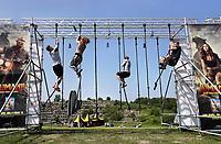 Nederland - Spaarnwoude  -  mei 2018. De Strong Viking Hills Edition. Obstacle Run in recreatiegebied Spaarwoude.  Foto mag niet in negatieve / schadelijke context gefotografeerd worden.   Foto Berlinda van Dam / Hollandse Hoogte.