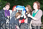 ROCK FANS: Having Fun at the Maine Event organised by That Guy Productions held at the Community Centre in Castlemaine on Sunday l-r: Kevin Hayes, Larissa Mirtschink, Michelle 'Sharky' Leonard, Amy Tanner and Shauna Bulter.   Copyright Kerry's Eye 2008