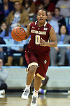 01 February 2015: Boston College's Ashley Kelsick. The University of North Carolina Tar Heels hosted the Boston College Eagles at Carmichael Arena in Chapel Hill, North Carolina in a 2014-15 NCAA Division I Women's Basketball game. UNC won the game 72-60.