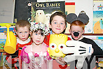 HANDS ON:  Josrph Murphy, Kate Kearney, Padraig Walsh and Jude Pierce, pupils from  Ballyduff Central National Schoo,  taking part in Book Day on Thursday. .L/r. Kayle O'Connor, Kerrie Ross and Ethan O'Connor.   Copyright Kerry's Eye 2008