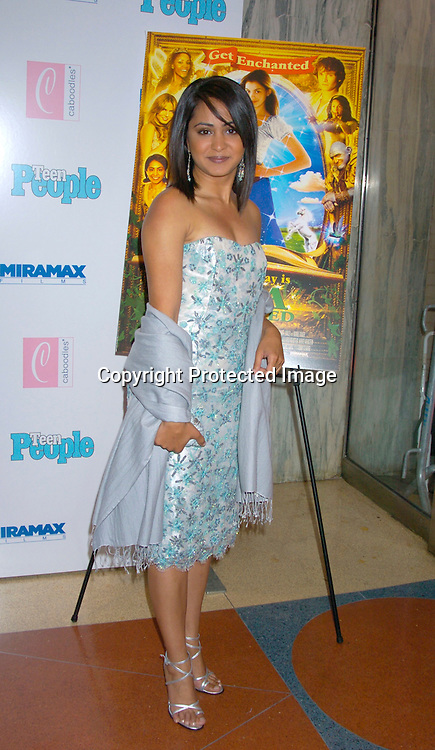 """Parminder Nagra ..at The Premiere of """"Ella Enchanted""""  on March 28, 2004 ..at the Clearview Beekman Theatre in New York City. ..Photo by Robin Platzer, Twin Images"""