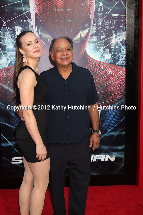 "LOS ANGELES - JUN 28:  Cheech Marin arrives at the ""The Amazing Spider-Man"" Premiere at Village Theater on June 28, 2012 in Westwood, CA"