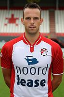EMMEN - Voetbal, Presentatie FC Emmen, Jens vesting, seizoen 2017-2018, 24-07-2017, FC Emmen speler Anco Jansen