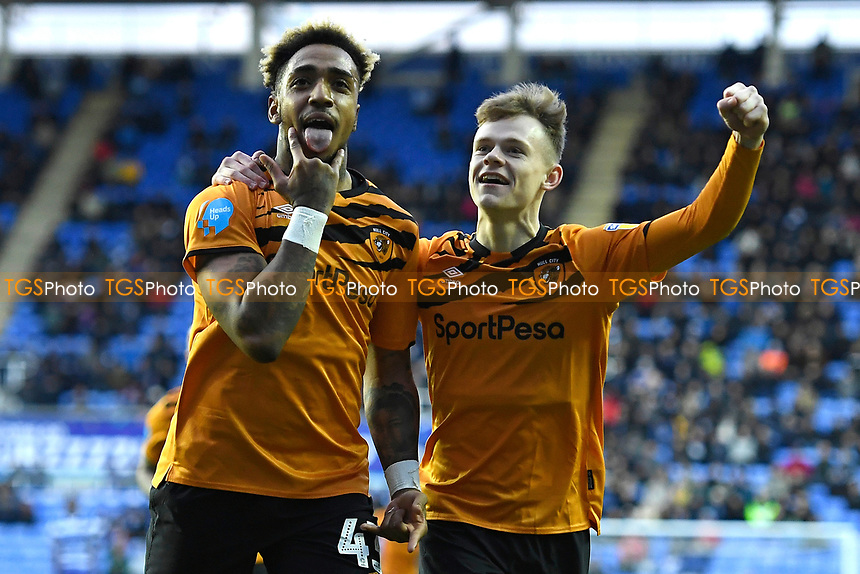 during Reading vs Hull City, Sky Bet EFL Championship Football at the Madejski Stadium on 8th February 2020