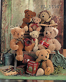 Interlitho, Alberto, CUTE ANIMALS, teddies, photos, teddies, chess, tins(KL15967,#AC#)