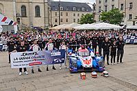 Les 24 heures du Man - 2019 - Ceremonie du pesage<br /> <br /> PHOTO :  Agence Quebec Presse - YANN TOUTAIN