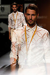 02.09.2012. Models walk the runway in the Ion Fiz fashion show during the Mercedes-Benz Fashion Week Madrid Spring/Summer 2013 at Ifema. (Alterphotos/Marta Gonzalez)