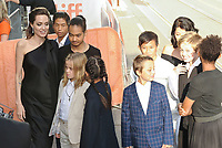11 September 2017 - Toronto, Ontario Canada -  Angelina Jolie, Vivienne Jolie-Pitt, Knox Jolie-Pitt, Shiloh Jolie-Pitt, Zahara Jolie-Pitt, Maddox Jolie-Pitt, Pax Jolie-Pitt, Loung Ung, Kimhak Mun. 2017 Toronto International Film Festival - &quot;First They Killed My Father&quot; Premiere held at Princess of Wales Theatre. <br /> CAP/ADM/BPC<br /> &copy;BPC/ADM/Capital Pictures