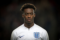 Callum Hudson-Odoi (Chelsea) of England U21 during the UEFA Euro U21 International qualifier match between England U21 and Austria U21 at Stadium MK, Milton Keynes, England on 15 October 2019. Photo by Andy Rowland.