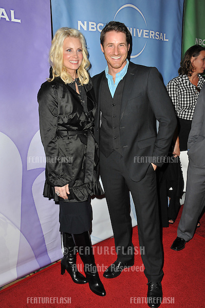 "Monica Potter & Sam Jaeger - stars of ""Parenthood"" - at the NBC Universal Winter 2011 Press Tour at the Langham Huntington Hotel, Pasadena..January 13, 2011  Pasadena, CA.Picture: Paul Smith / Featureflash"