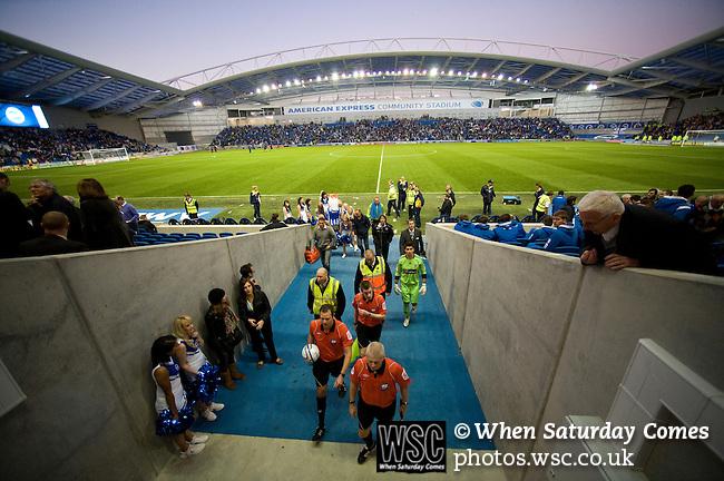 Brighton and Hove Albion 0 Hull City 0, 15/10/2011. Amex Stadium, Championship. Photo by Simon Gill.