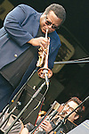 "Trumpeter Wallace Roney and an all-star orchestra performed the lost compositions of Wayne Shorter at the Roots & Ribs music festival at the Oskar Schindler Performing Arts Center in West Orange, NJ. The works, which included ""Legend"" and ""Universe,"" were played in concert for the first time in 45 years."