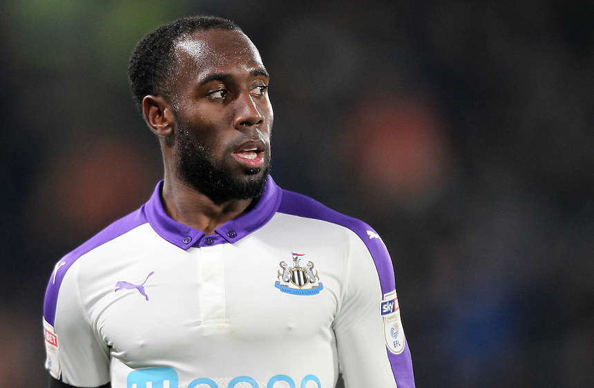 Newcastle United's Vurnon Anita<br /> <br /> Photographer /Mick Walker CameraSport<br /> <br /> The EFL Cup Quarter Final - Hull City v Newcastle United - Tuesday 29th November 2016 - The KCOM Stadium - Hull<br />  <br /> World Copyright &copy; 2016 CameraSport. All rights reserved. 43 Linden Ave. Countesthorpe. Leicester. England. LE8 5PG - Tel: +44 (0) 116 277 4147 - admin@camerasport.com - www.camerasport.com
