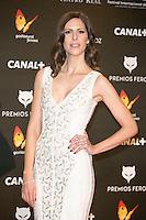 Barbara Santa Cruz attends the Feroz Cinema Awards 2015 at Las Ventas, Madrid,  Spain. January 25, 2015.(ALTERPHOTOS/)Carlos Dafonte) /NortePhoto<br /> <br /> nortePhoto.com