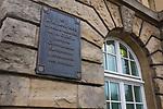 Luxembourg - oroginal site of the ECSC, High Authority of the European Coal and Steel Community<br /> .Ici le 10 aout 1952 la Haute Autorit&eacute; de la CECA premi&egrave;re Communaut&eacute; Europ&eacute;enne a commenc&eacute; ses travaux.