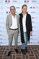 BEVERLY HILLS, CA - FEBRUARY 10: Alexandre Nahon, Nora Arnezeder, at Global CINEMATHEQUE presents the World Cinema Awards ceremony at the Residence du Consul de France in Beverly Hills California on February 10, 2020. <br /> CAP/MPIFS<br /> ©MPIFS/Capital Pictures