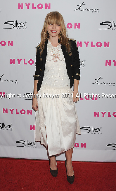 HOLLYWOOD, CA - MARCH 24: Taryn Manning arrives at NYLON Magazine's 12th Anniversary Issue Party With The Cast of Sucker Punch at Tru Hollywood on March 24, 2011 in Hollywood, California.