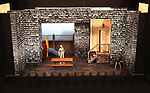"""Stage & Set Design (Model) .attending the Meet & Greet for the Playwrights Horizons production of """"Rapture, Blister, Burn'  at their rehearsal studio in New York City on 4/17/2012"""