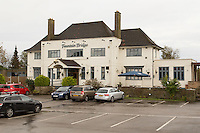 The Fountain Bridge carvery restaurant and pub at Kirkby in Ashfield, Nottinghamshire.