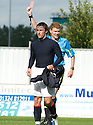 07/08/2010   Copyright  Pic : James Stewart.sct_jsp012_falkirk_v_dunfermline  .::  MARK MILLAR GETS A RED CARD FOR A CHALLENGE ON WULLIE GIBSON ::  .James Stewart Photography 19 Carronlea Drive, Falkirk. FK2 8DN      Vat Reg No. 607 6932 25.Telephone      : +44 (0)1324 570291 .Mobile              : +44 (0)7721 416997.E-mail  :  jim@jspa.co.uk.If you require further information then contact Jim Stewart on any of the numbers above.........