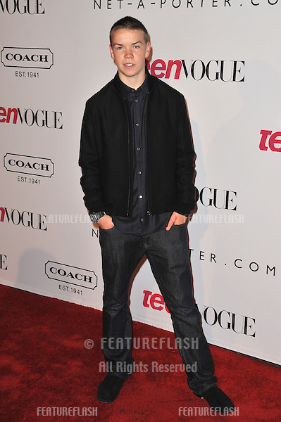 Will Poiler at the 9th Annual Teen Vogue Young Hollywood Party at Paramount Studios, Hollywood..September 23, 2011  Los Angeles, CA.Picture: Paul Smith / Featureflash