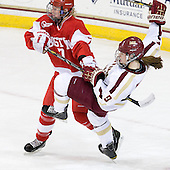 Shannon Stoneburgh (BU - 7), Taylor Wasylk (BC - 9) - The Boston College Eagles tied the visiting Boston University Terriers 5-5 on Saturday, November 3, 2012, at Kelley Rink in Conte Forum in Chestnut Hill, Massachusetts.