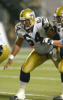 Moe Elewonibi Winnipeg Blue Bombers 2003. Photo Scott Grant