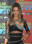 UNIVERSAL CITY, CA. - October 15: Alessandra Ambrosio attends Los Premios MTV 2009 Latin America Awards held at the Gibson Amphitheatre on October 15, 2009 in Universal City, California.