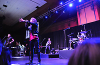 NWA Democrat-Gazette/JOCELYN MURPHY<br /> Brooklyn, New York's pop-rockers American Authors performed at the Kiss a Pig Gala at the John Q. Hammons Center in Rogers on March 11.